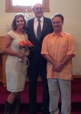 Rev Chris Mohr wedding celebrant