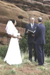 elopement Colorado Red Rocks outdoor wedding