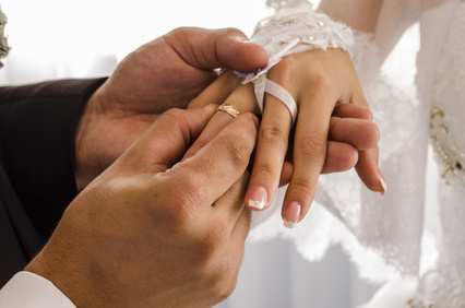 Wedding Vows Civil Ceremony Rings Declaration of Marriage