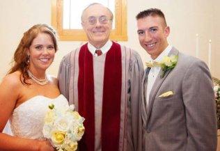 Wedding Officiant Rev. Mohr